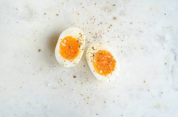 Eggs are certainly nutritious, containing nearly every vitamin your body requires. They're strong in B vitamins and trace elements in particular.